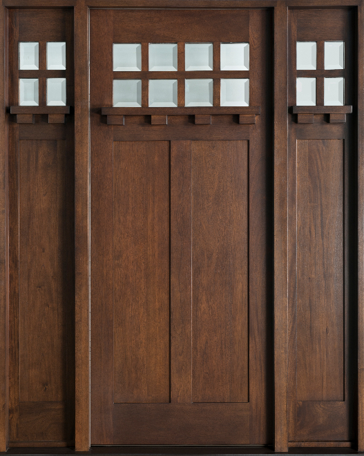 Custom Solid Wood Exterior Doors 527 x 660