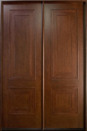 db-010-cst-double-door-dark-mahogany-custom