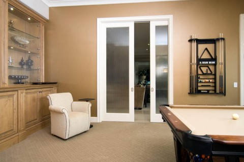 Pair MDF Interior Door French Series