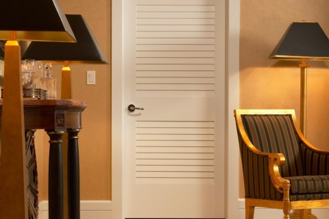 Louver MDF Interior Door