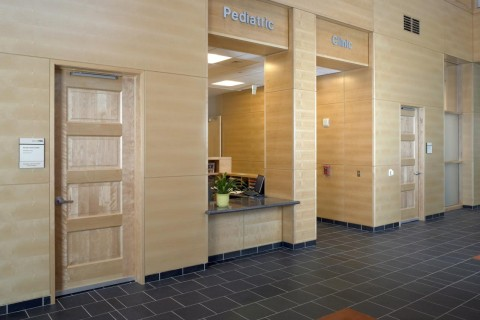 Pediatrics TruStile MDF Interior Door Standard Panel