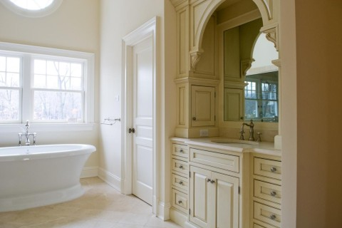 Bathroom MDF Interior Door Standard Panel