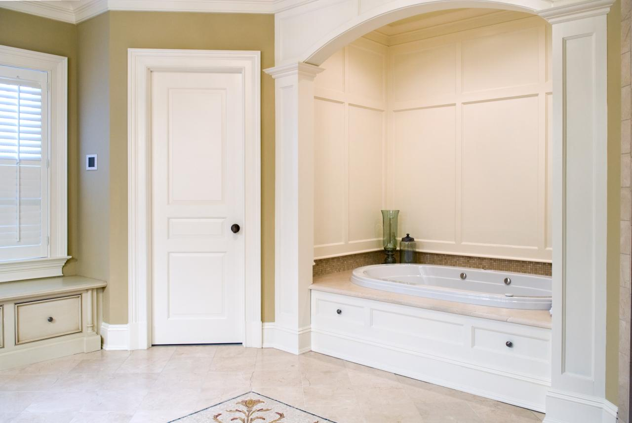 Bathroom Entry Doors custom wood doors - doors for builders | solid wood entry doors