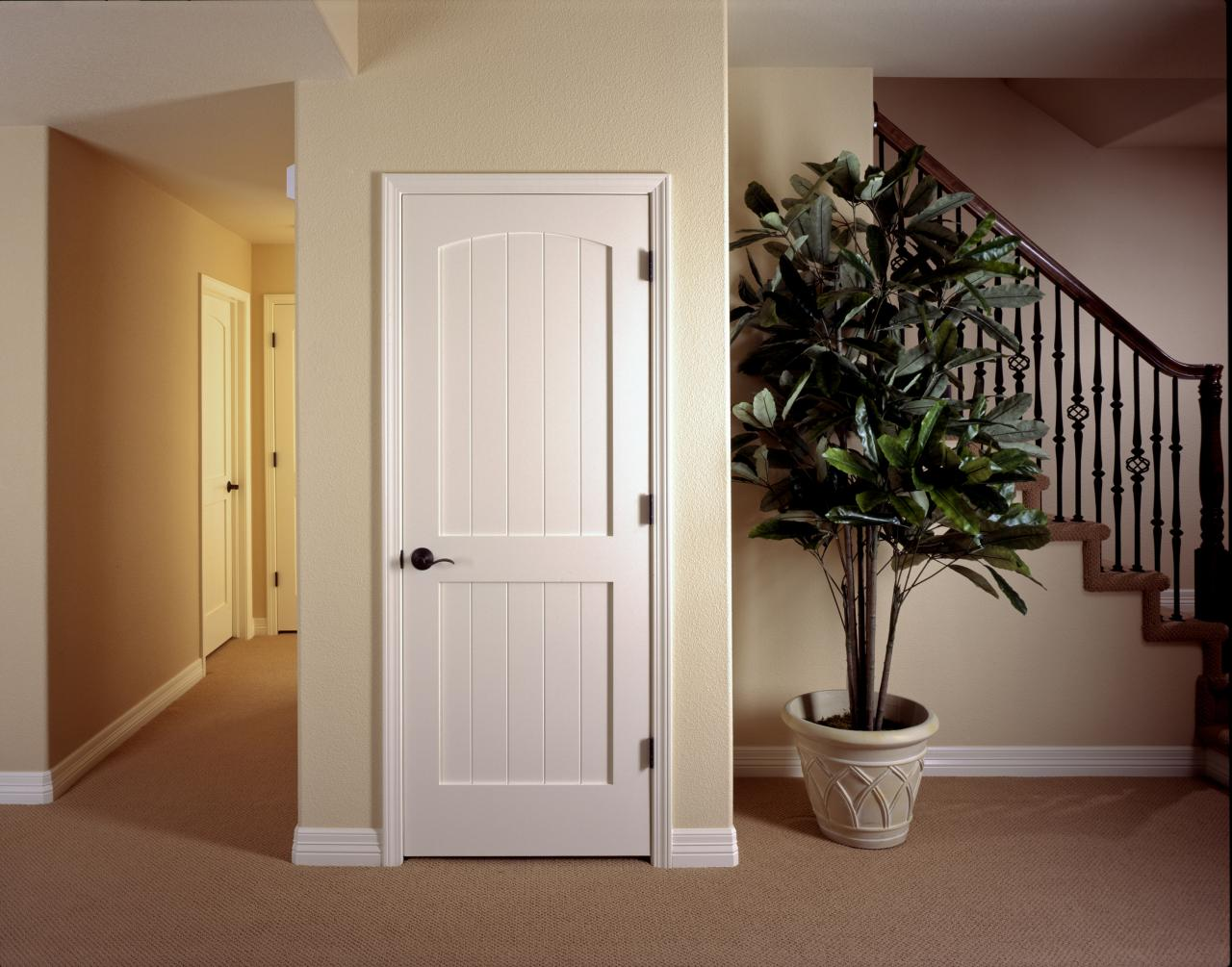 Trustile paint grade mdf interior doors in chicago at glenview mdf interior door trustile v grove series eventelaan Images