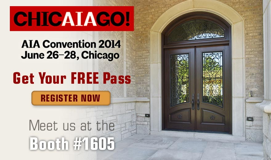 The 2014 AIA Convention in Chicago, IL - Doors For Builders proud to be a part of the show.