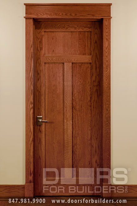 Wooden doors wooden doors craftsman style for Interior doors styles