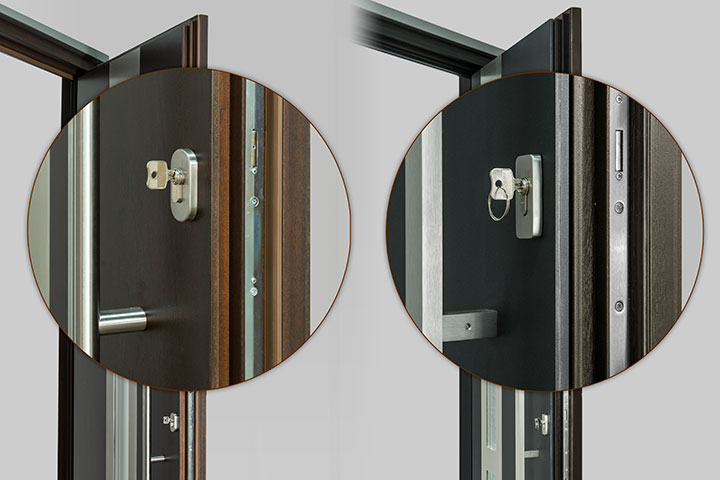 Multipoint Mechanism Entry Door Harware Locks