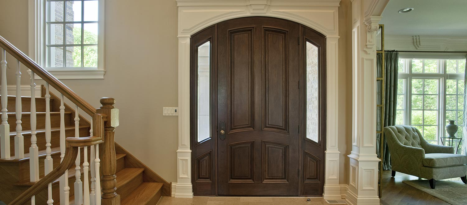 In Stock Solid Wood Doors