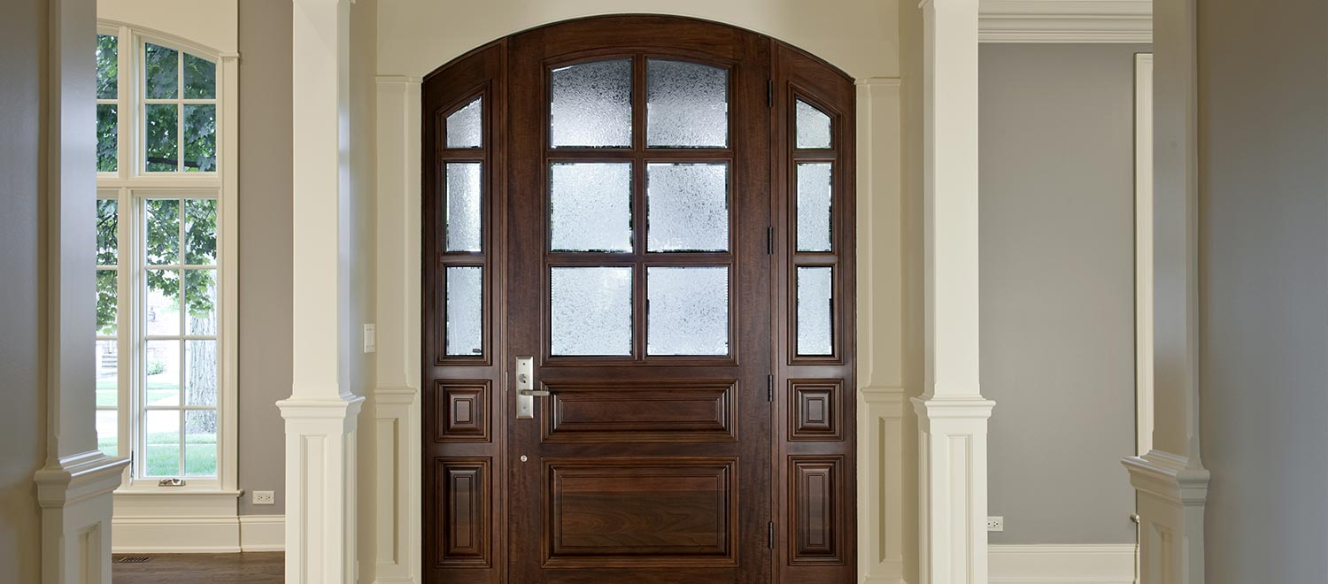 instock front doors solid wood