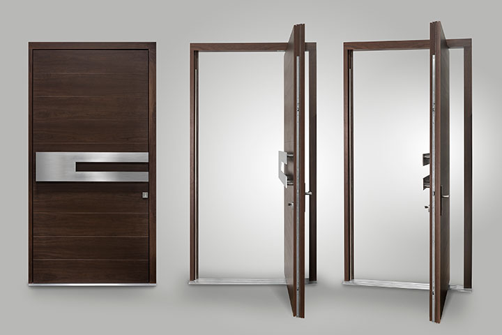 Pivot Enrty Doors