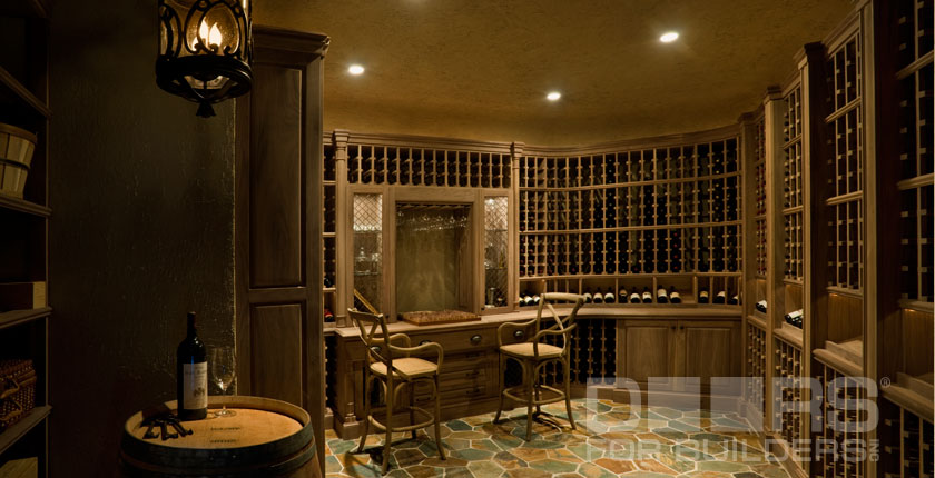 Wine Cellar Solid Wood Doors 6