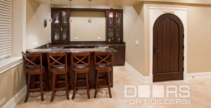 Wine Cellar Solid Wood Doors 7