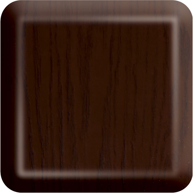 44 Aurora Fiberglass Exterior Door Oak-Dark-Cherry