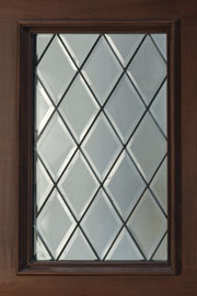 DIAMOND GLASS - CLEAR - Wood Entry Doors