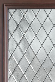 DIAMOND GLASS - PRIVACY - Wood Entry Doors