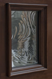 BAROQYE GLASS - Wood Entry Doors