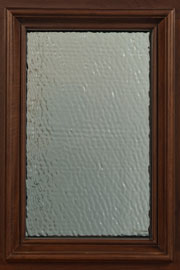 CORSICA GLASS - Wood Entry Doors