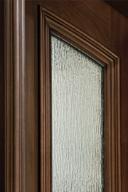 RAIN GLASS(GLACIER) - Wood Entry Doors