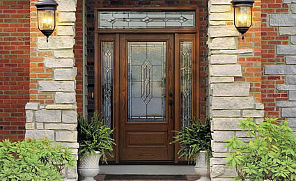 Fiberglass entry doors therma tru from doors for for Harvey therma tru doors