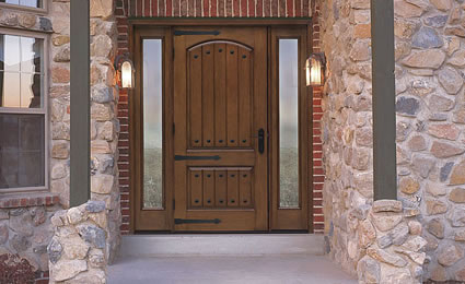 Benchmark by Therma Tru Exterior Fiberglass Entry Door from Lowes