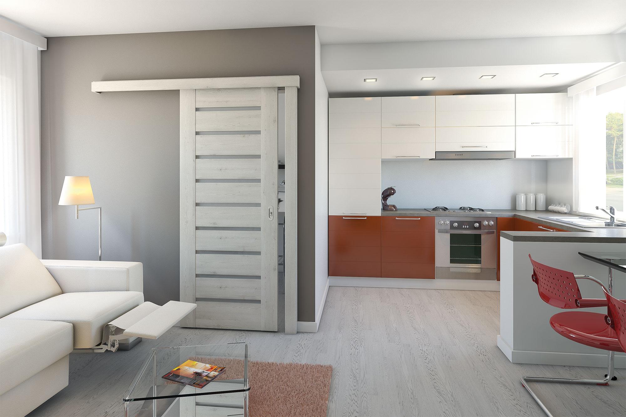 Modern Interior Door  2