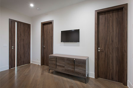 Modern Eco Veneer Interior Door
