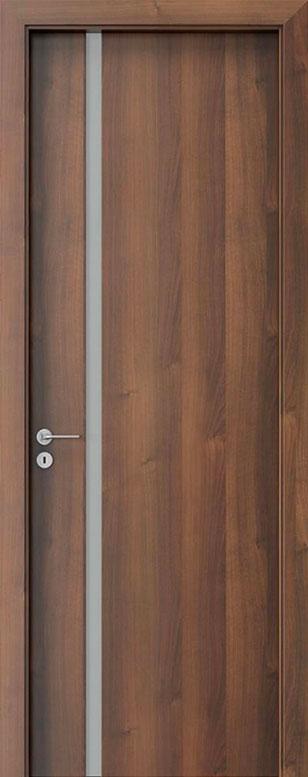 Walnut Wood Front Door - Single