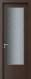 Modern Interior Door, Wenge with  Finish, GDEV-DEC-D
