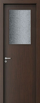 Modern Interior Door, Wenge with  Finish, GDEV-DEC-M