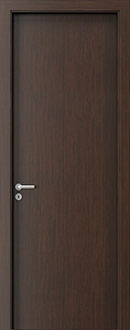 Modern Interior Door, Wenge with  Finish, GDEV-DEC-P