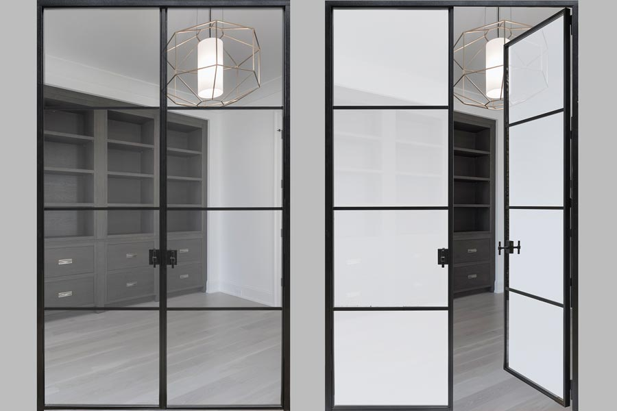 Steel Interior Doors - Double Doors