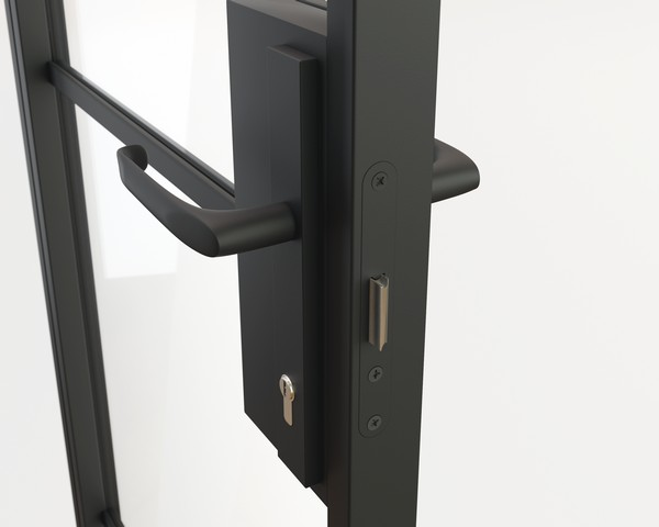 Steel Door Handle - LONG handle