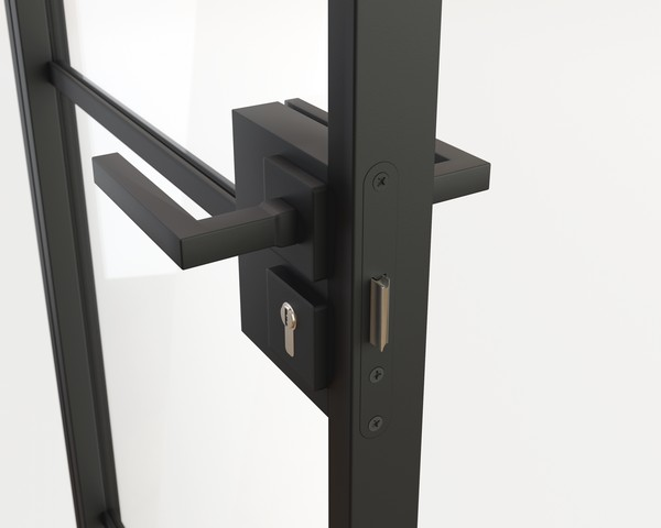 Steel Door Handle - Square handle