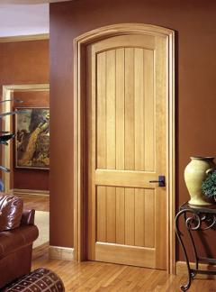 VG2020 arch-top in douglas fir & PAINT GRADE MDF INTERIOR DOORS TruStile - Custom Doors by Doors for ...