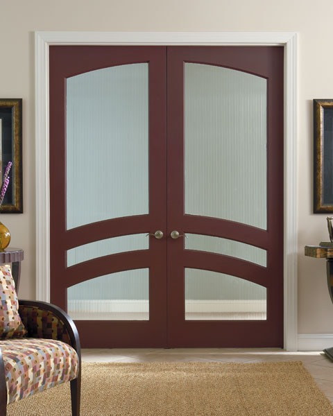 Common Arch Pair Large MDF Door