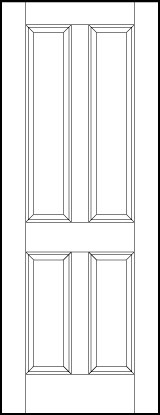 ts4000 Paint Grade MDF Interior Doors