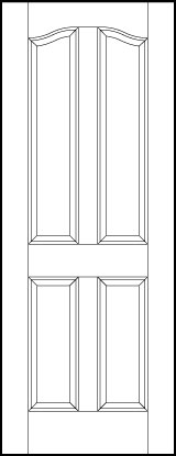 ts4010 Paint Grade MDF Interior Doors