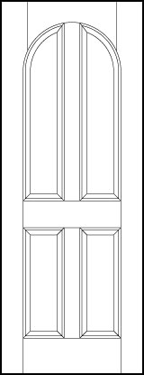 ts4070 Paint Grade MDF Interior Doors