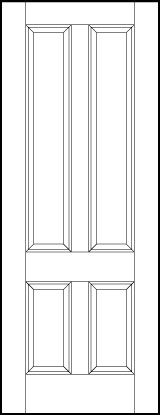 ts4140 Paint Grade MDF Interior Doors