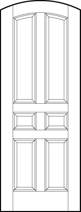 Arch-Top Door Options ts6100