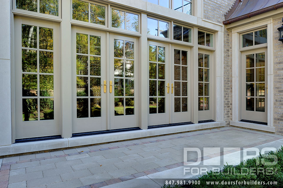 Custom Windows Project - Double French Swinging Patio Door. Double French Swinging Patio Door & Windows Windsor Windows Custom Windows Solid Wood CAOBA Windows ...