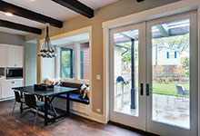 Custom Windows Project - French Style Patio Doors with thicker bottom rail