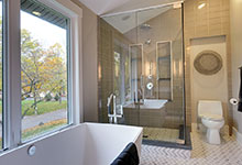 Custom Windows Project - Tempered Glass in Bathroom