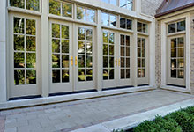 Custom Windows Project - Double French Swinging Patio Door