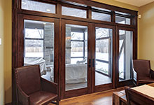 Custom Windows Project - Pinnacle Clad Patio Doors