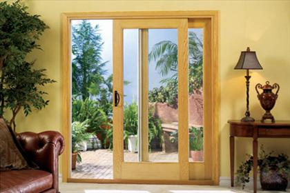 Sliding Wood Patio Doors windows, windsor windows, custom windows, solid wood, caoba