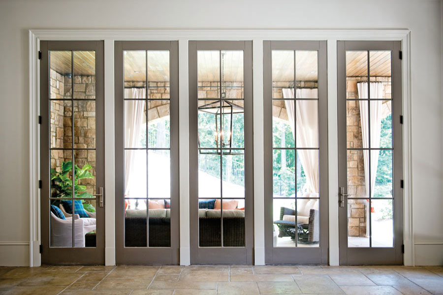 Patio doors custom swinging patio doors at doors for for In swing french patio doors