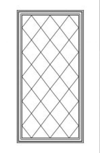 Grille-Patterns: Diamond 77