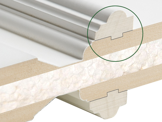 High Profile (H) RAISED MOULDING