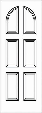 5517 Paint Grade MDF Interior Doors